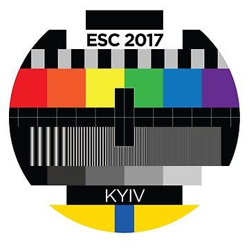 ESC - testcard [2017, Kyiv] by lazarusheart