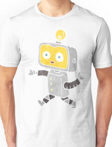 retro cartoon little robot Unisex T-Shirt