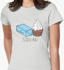 Buttercream Squad Womens Fitted T-Shirt