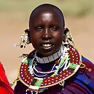 Maasai Woman by Philip Alexander