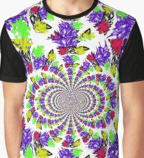 Rainbow Funny Slots Graphic T-Shirt