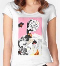 Poured content Women's Fitted Scoop T-Shirt