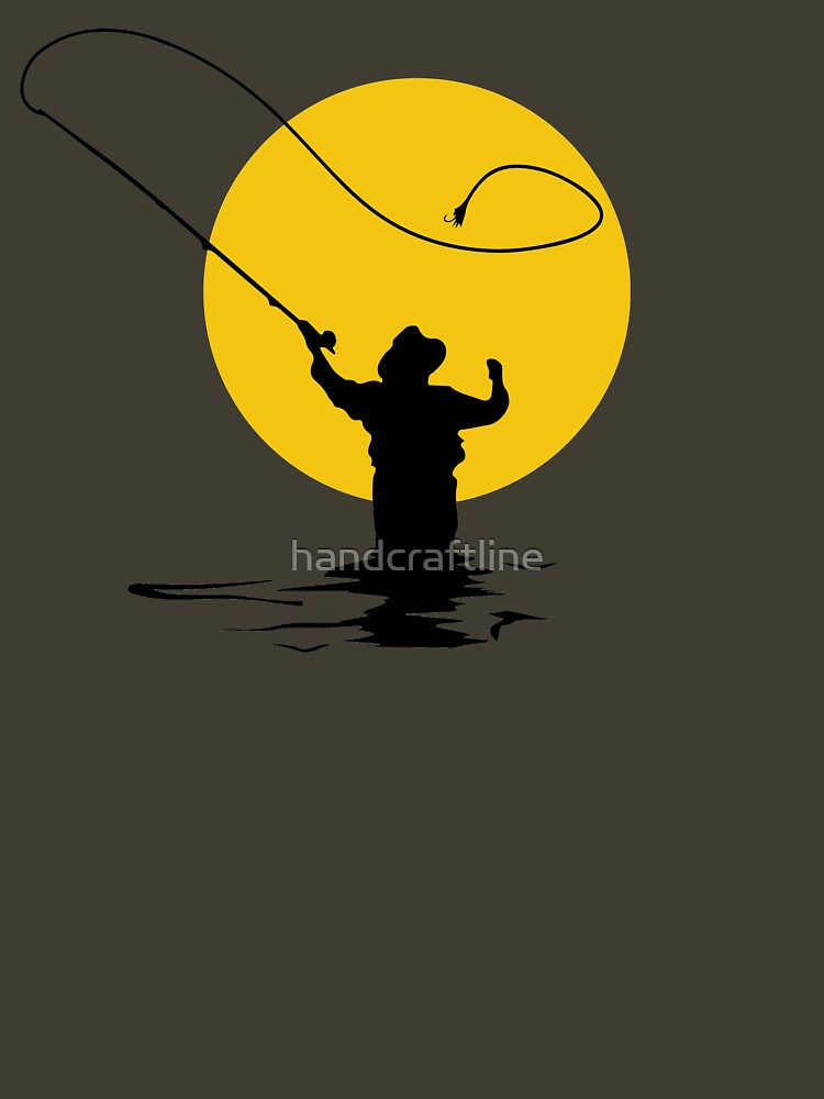 Fly Fishing by handcraftline