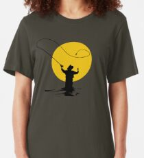 Camiseta ajustada Pesca con mosca