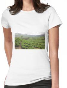 Munnar Tea Garden Kerala Womens Fitted T-Shirt