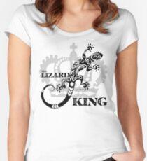 The Lizard king Jim Morrison The Doors Design Women's Fitted Scoop T-Shirt