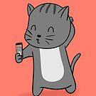 Selfie Kitty by cartoonbeing