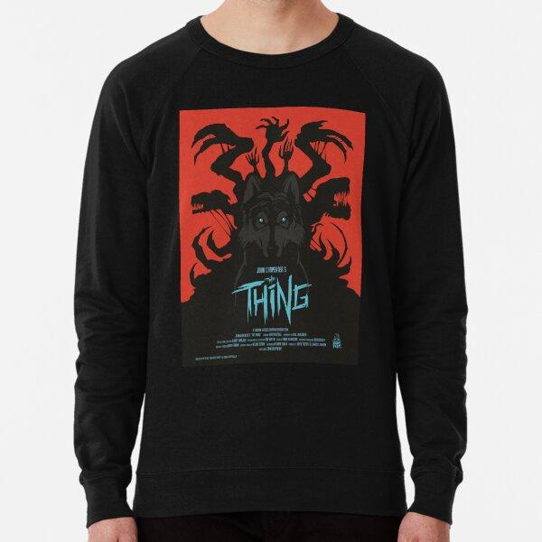 The Thing Classic Retro Poster Lightweight Sweatshirt