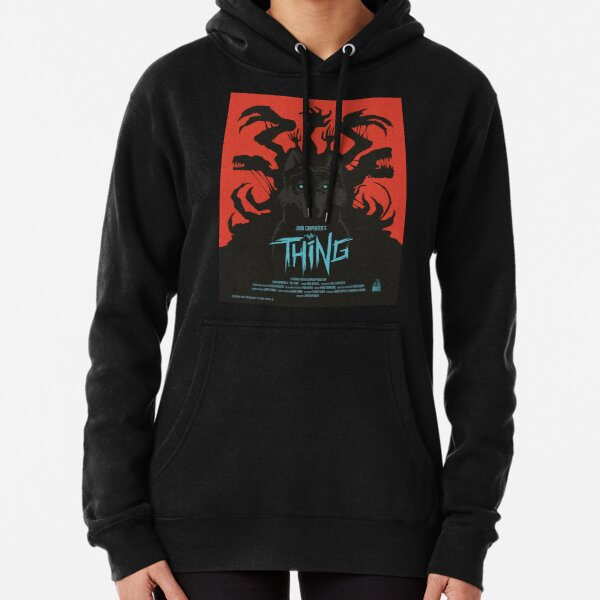The Thing Classic Retro Poster Pullover Hoodie