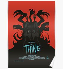 The Thing Classic Retro Poster Poster
