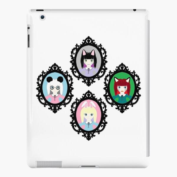 Kawaii Cosplay Girl - Bunny, Fox, Panda & Cat iPad Snap Case