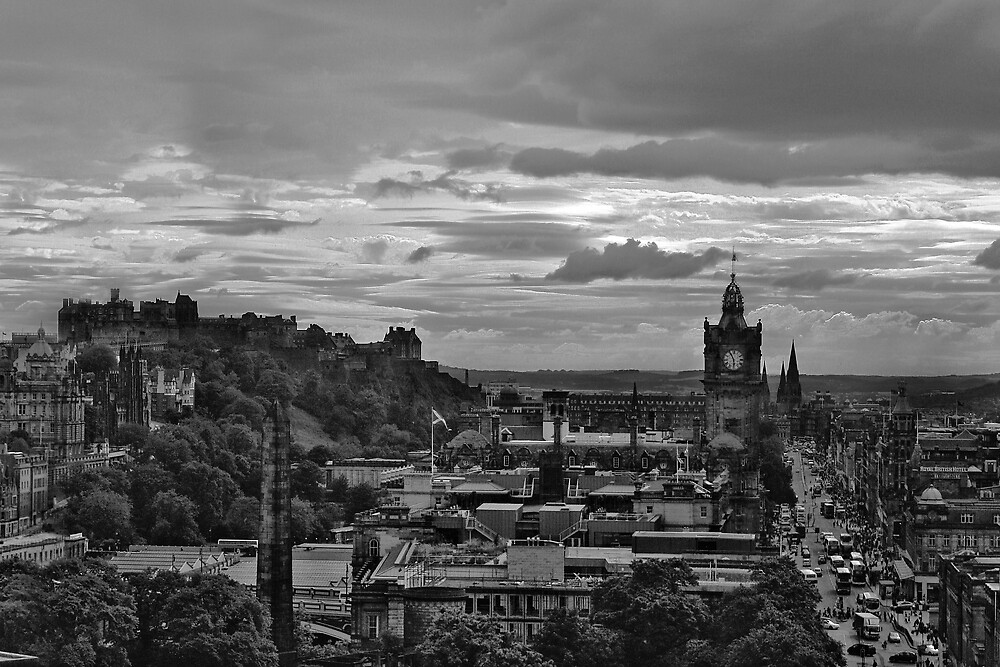 Edinburgh by Chris Clark
