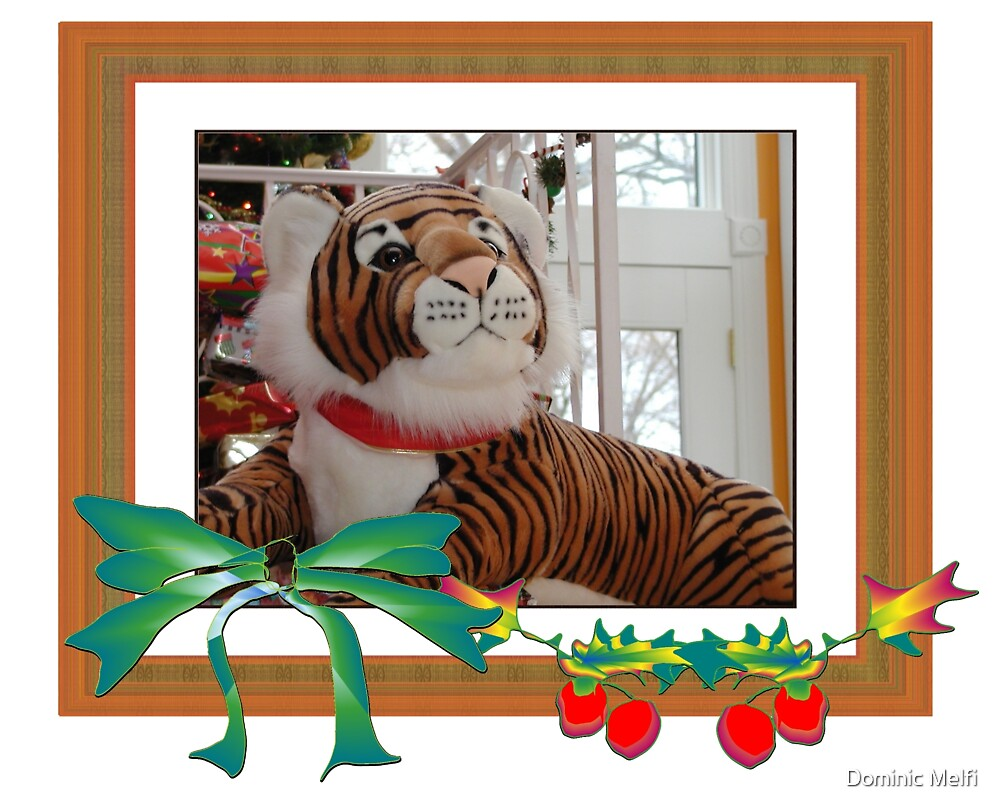 Christmas Tiger by Dominic Melfi