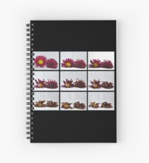 Death of flowers Spiral Notebook