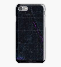 USGS TOPO Map Colorado CO Parker 234064 1957 24000 Inverted iPhone Case/Skin