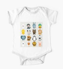 Funny Animals Collection One Piece - Short Sleeve