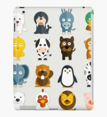 Funny Animals Collection iPad Case/Skin