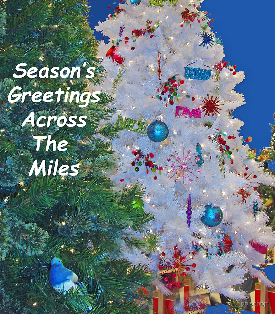Season's Greetings Across The Miles by pbischop