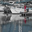 One morning in the harbour by awefaul