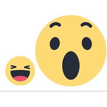 """Cute Emojis """"Wow"""" by 50Pxels"""