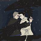 The hunter's angel  by katyuna