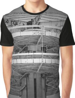 Observation Tower Detail - New York State Pavilion | Flushing, New York Graphic T-Shirt