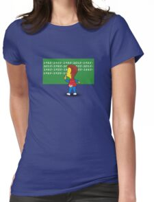 Time detention Womens Fitted T-Shirt
