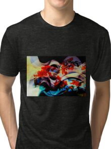 Bougainvillea At Joe's Secret Garden III Tri-blend T-Shirt