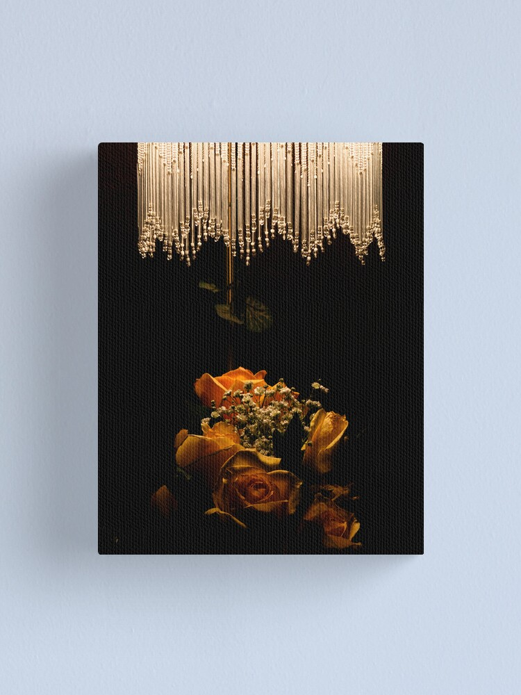 Alternate view of Light and Petals Canvas Print