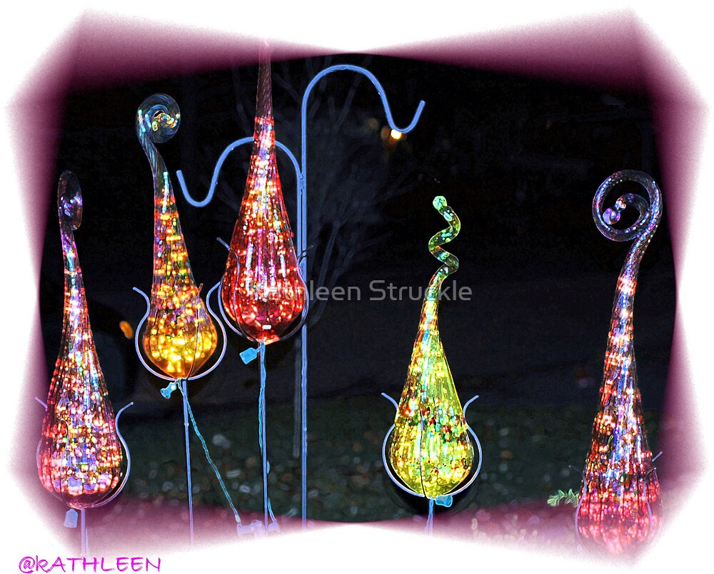 Glass Ornaments by Kathleen Struckle