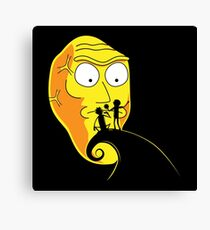The Nightmare Before Schwiftmas Canvas Print