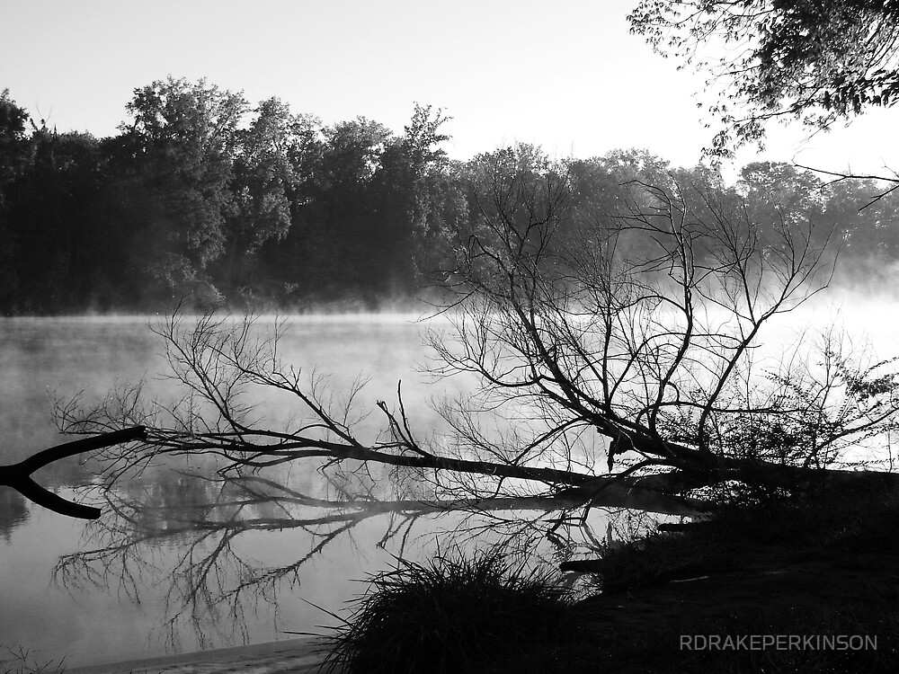 EARLY MORNING IN BLACK AND WHITE by RDRAKEPERKINSON