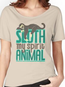 Sloth Is My Spirit Animal Women's Relaxed Fit T-Shirt