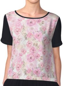 Delicate roses Chiffon Top