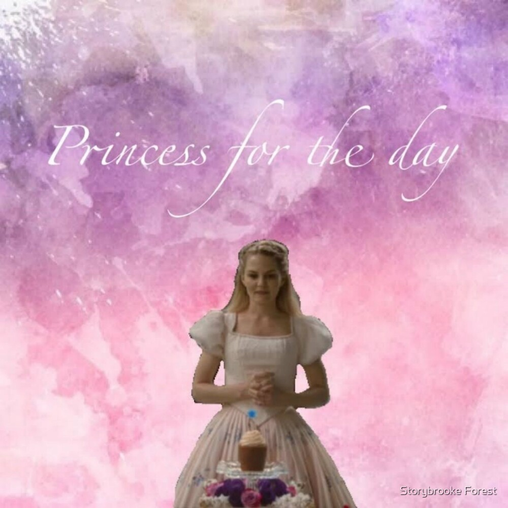 Emma Swan Princess For The Day by Storybrooke Forest