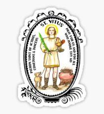 Saint Vitus Patron of Actors, Comedians, Dancers Sticker