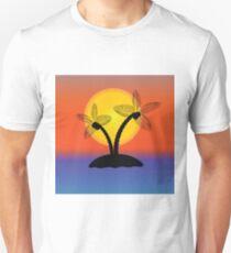 Palm Tree Silhouette Unisex T-Shirt