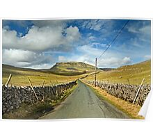 Penyghent, Yorkshire Dales Poster