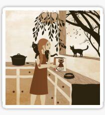 cat food Sticker