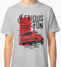 VW Golf MK2 GTI Red edition (White color in my portfolio) Classic T-Shirt
