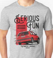 VW Golf MK2 GTI Red edition (White color in my portfolio) Unisex T-Shirt