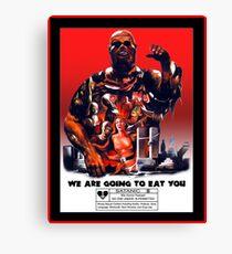 Say You Love Satan 80s Horror Podcast - Zombie Canvas Print
