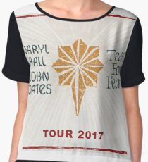 DARYL HALL & JOHN OATES and TEARS FOR FEARS Tour 2017 DTR05 Women's Chiffon Top