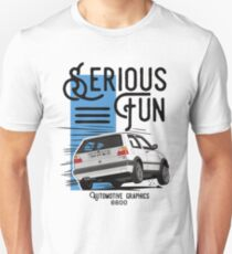 VW Golf MK2 GTI White edition (Red color in my portfolio) T-Shirt