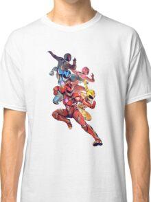 Power Rangers 2017 Movie Classic T-Shirt