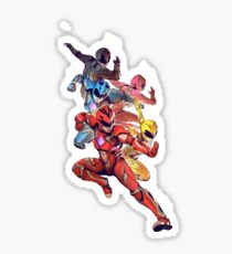 Power Rangers 2017 Movie Sticker