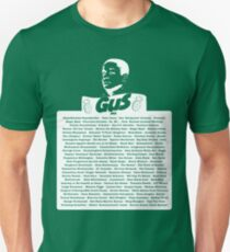 The Many Names of Burton Guster Unisex T-Shirt