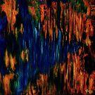 Untitled Blue & Orange (AKA Vichter 2) (Oils - 91 x 91cm) by ArtStudioV