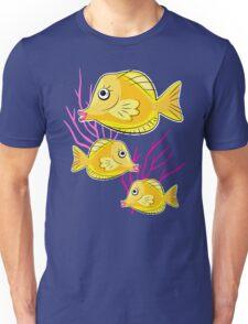 Yellow Tang Tropical Fish Unisex T-Shirt