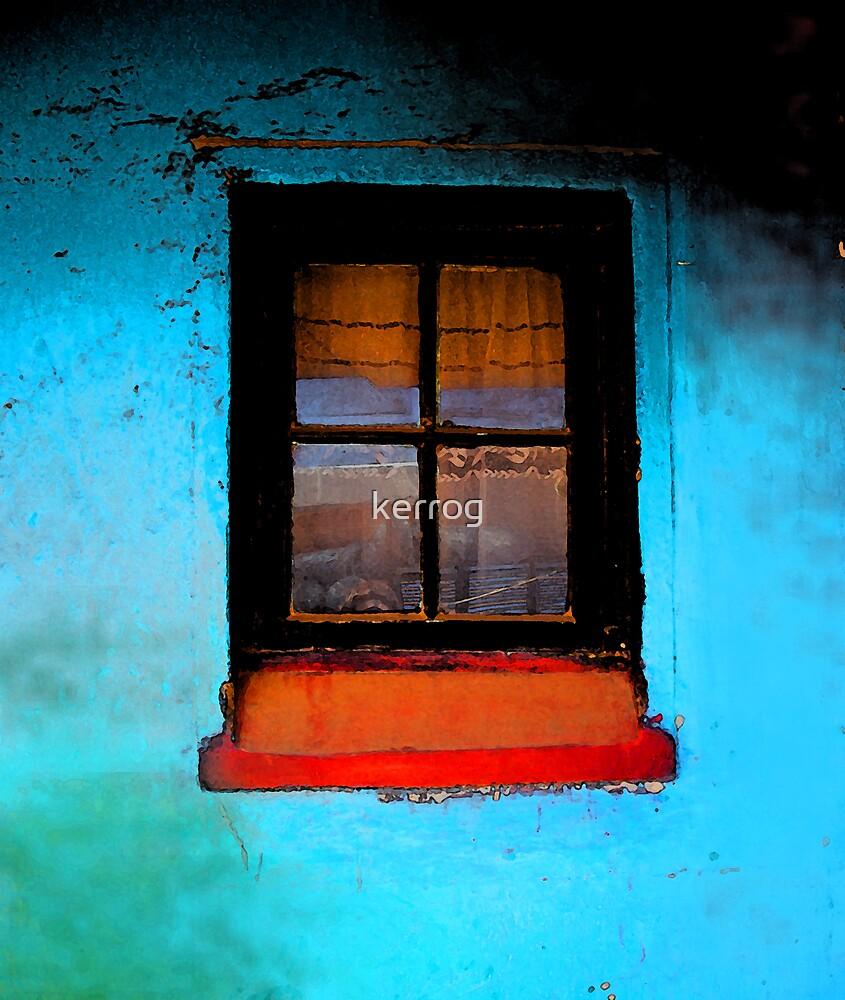 Blue Window by Kerryn Rogers